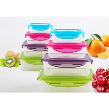 8 Piece Food Container Set