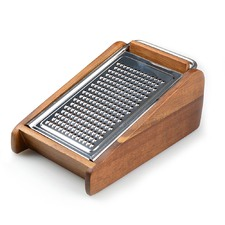 Acacia Wood Table Cheese Grater