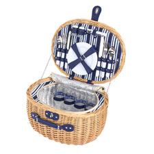 4 Person Adelaide Wicker Picnic Basket