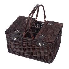 4 Person Newbury Rattan Picnic Basket