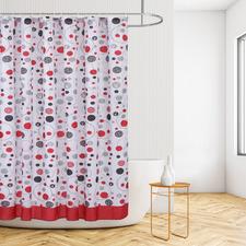 Multi Spots Shower Curtain