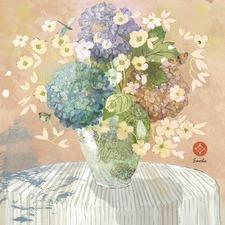 Brendas Hydrangea Canvas Wall Art
