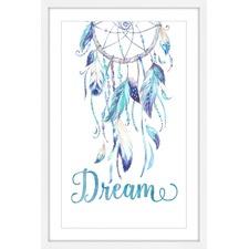 Blue Dreamcatcher Wall Art