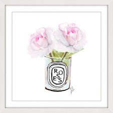 Two Roses Wall Art