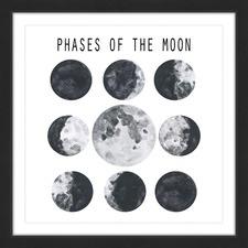 Moon Phases Wall Art