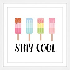 Stay Cool Wall Art