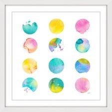 Pastel Dots Wall Art