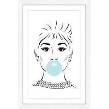 Bubble Blue Wall Art