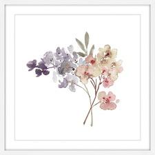 Watercolor Bouquet Wall Art