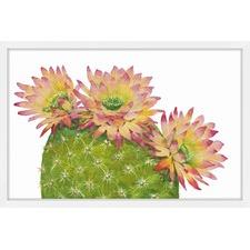 Desert Blossoms I Framed Painting Print
