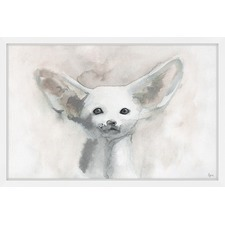 I Hear You Framed Painting Print