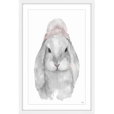 Lapin Mignon Framed Painting Print