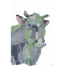 La Vaca Wrapped Canvas Painting Print