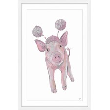 Cochon Volant Framed Painting Print