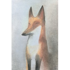 Le Renard Wrapped Canvas Painting Print