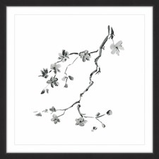 Cherry Blossoms Framed Painting Print