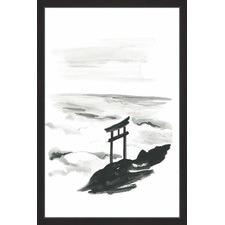 Shadows Framed Painting Print