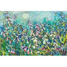 Joy in the Garden Canvas Wall Art