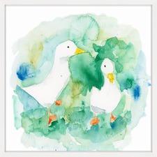 Ducks Framed Wall Art