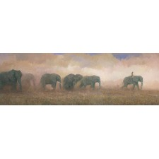 Dust Riders Canvas Wall Art