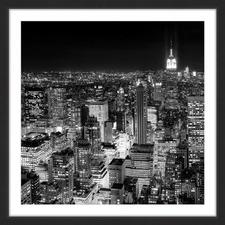 New York Cityscape 3 Framed Wall Art