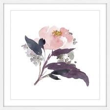 Watercolour Bouquet 1 Framed Wall Art