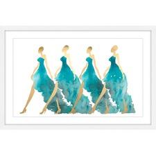 Blue Obsession Framed Print
