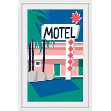 Motel II Framed Print