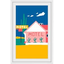 Motel I Framed Print