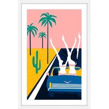 Party Car Framed Print