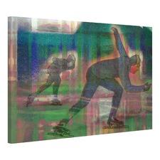 Speed Skate Canvas Wall Art