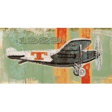 Vintage Plane 1929 Art Print on Canvas