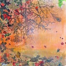 Punica Granutum Art Print on Canvas