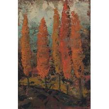 Sienna Sunset 2 Art Print on Canvas