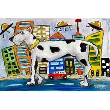Urban Abduction Art Print on Canvas