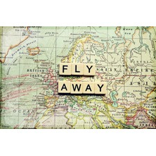 Fly Away Art Print on Canvas