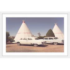 Cars & Teepees Framed Print
