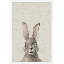 Bunny Eyes II Framed Print