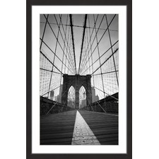 Brooklyn Bridge II Framed Print