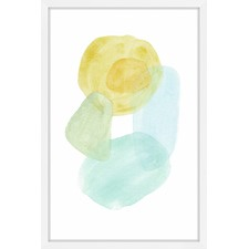 Pastel Set Framed Print