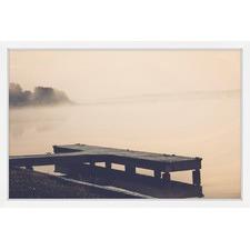 Morning at the Lake Framed Print