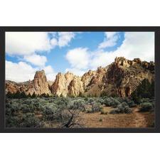 Mountains Majesty Framed Print