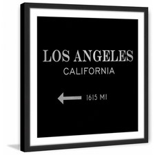 Los Angeles 1615 MI II Framed Print