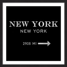 New York 2908 MI II Framed Print