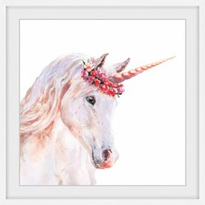 Sweet Unicorn Framed Print