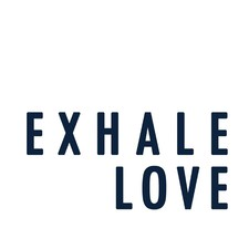 Exhale Love Canvas Wall Art