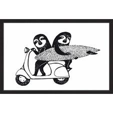 Ventura Sloths Framed Print