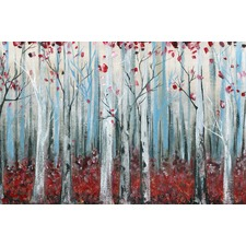 Whistwire Forest Canvas Wall Art