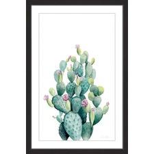 Desert Blooms VI Framed Print