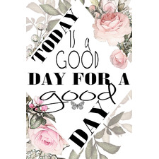 A Good Day Stretched Canvas Wall Art